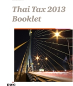 Thai Tax 2013 Booklet