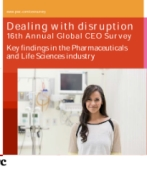 Key findings in the Pharmaceuticals & Life Sciences industry - 16th Annual Global CEO Survey