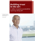 Building trust in the air: Is airline corporate social responsibility reporting taking off?