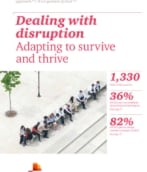 16th Annual Global CEO Survey: Dealing with  disruption Adapting to survive  and thrive