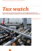 Tax watch - August 2013