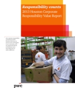 2013 Houston Corporate  Responsibility Value Report