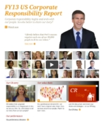 FY13 US Corporate Responsibility Report