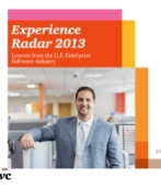 Experience Radar 2013: Lessons from the U.S. Enterprise Software industry