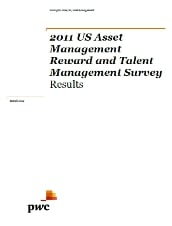 2011 US Asset Management reward and talent management survey