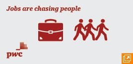 Jobs are chasing people