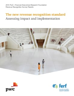 2015 Revenue recognition survey: Assessing impact and implementation