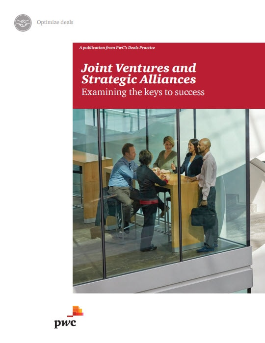 Joint Ventures and Strategic Alliances: Examining the keys to success cover