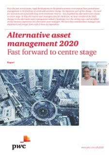 Alternative asset management 2020: Fast forward to center stage cover