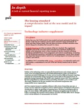 In depth: Technology industry supplement to leasing standard cover