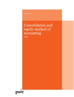 Consolidation and equity method of accounting - 2015 edition cover