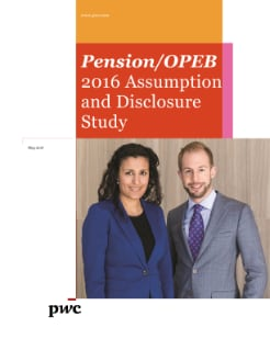 Pension/OPEB 2016 Assumption and disclosure study cover