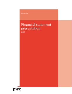 Financial statement presentation - 2016 edition