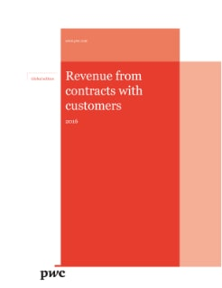 Revenue from contracts with customers - 2016 global edition