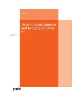 Derivative instruments and hedging activities - 2013 second edition (July 2015) cover