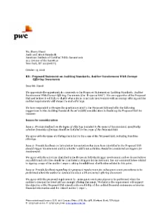 PwC comments on FASB's proposed update to accounting for modifications
