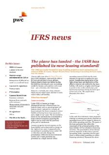 IFRS news - February 2016 cover