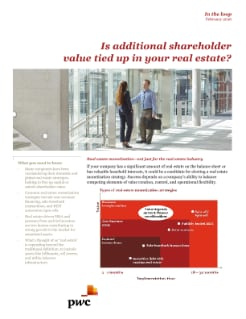 In the loop: Is additional shareholder value tied up in your real estate cover