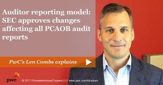 Auditor reporting model: SEC approves changes affecting all PCAOB audit reports