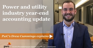 Power and Utility Industry Year-end accounting update