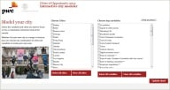 Cities of opportunity: Model your city: PwC
