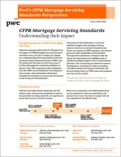 CFPB Mortgage Servicing Standards: Understanding their impact