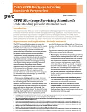 CFPB Mortgage Servicing Standards: Understanding periodic statement rules