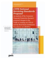 CFPB national servicing standards proposal