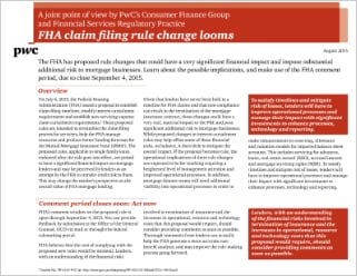FHA claim filing rule change looms