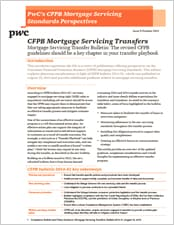 Mortgage Servicing Transfer Bulletin: The revised CFPB guidelines should be a key chapter in your transfer playbook