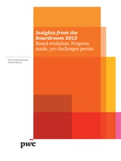 Download PwC's 2012 Annual Corporate Directors Survey