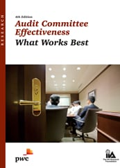 US corporate governance: Audit committee effectiveness: What works best, 3rd edition