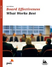 Board effectiveness: What works best - 2nd edition