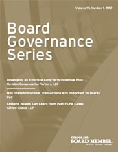 Board Governance Series - Volume 22