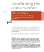 Continuing the conversation: Directors speak