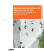 What is a board's role in family business?