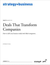 Deals That Transform Companies
