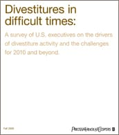 Divestitures in difficult times