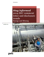 2014 SEC comment letter trends for the Energy and Mining Industry