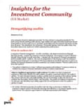PwC's Investor Resource Institute