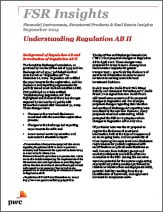 FSR Insights: Understanding Regulation AB II