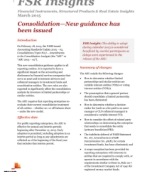FSR Insights: Consolidation - New guidance has been issued