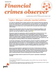 Cyber: Sharper rules for market infrastructure