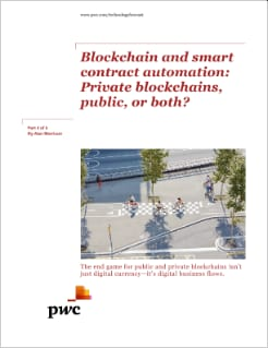 Private blockchains, public, or both?