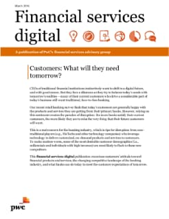 Customers: What will they need tomorrow?