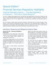 Financial regulatory reform - The new regulatory architecture - Will it be a global blueprint?