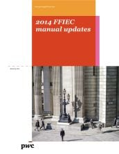 2014 FFIEC manual updates