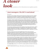 Asset managers: The SEC's road ahead