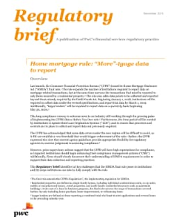 Home mortgage rule: