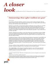 Outsourcing: How cyber resilient are you?